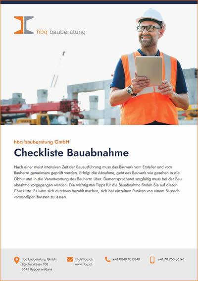 Bauabnahme: Tipps, einfach, verständlich PDF