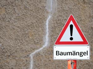 Baumängel – gut zu wissen welche Rechte haben Bauherren haben