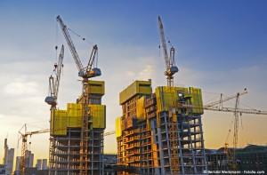 Zusammenarbeitsformen für die Ausführung von Hochbauten